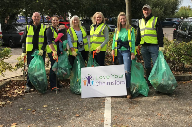 river clean up litter picking love your chelmsford