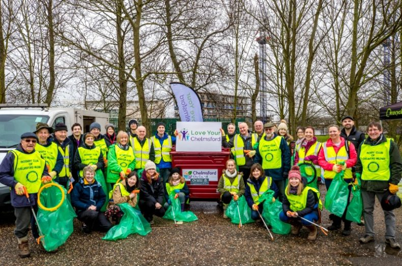chelmsford river clean up litter pick 2020