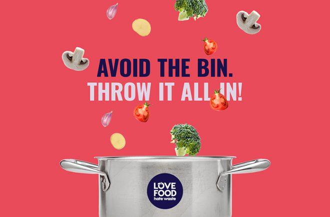 love food hate waste green eating