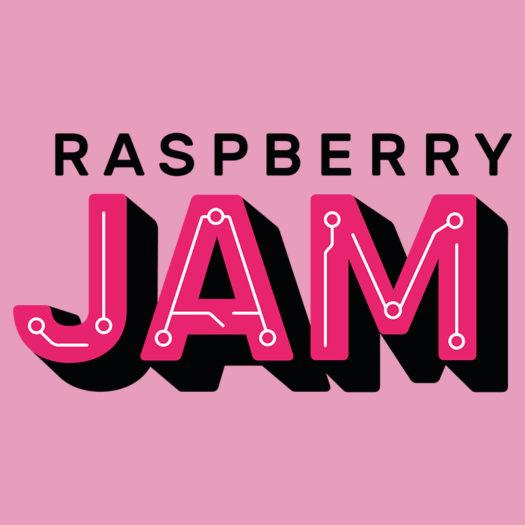 Raspberry Jam STEAM festival logo