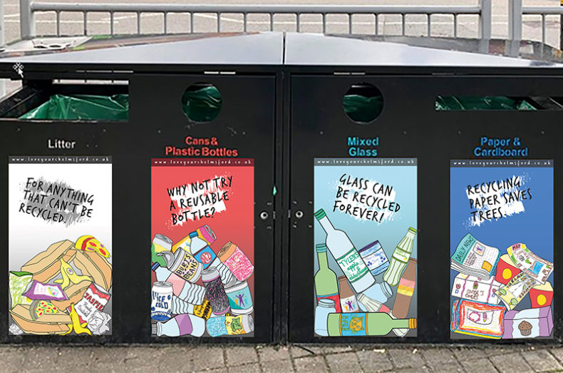 recycling on the go chelmsford
