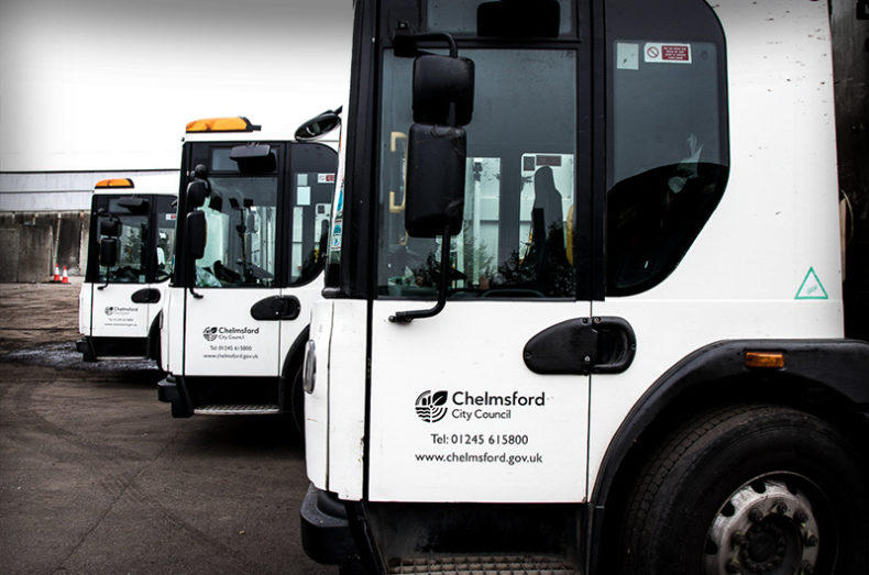 recycling collection vehicles