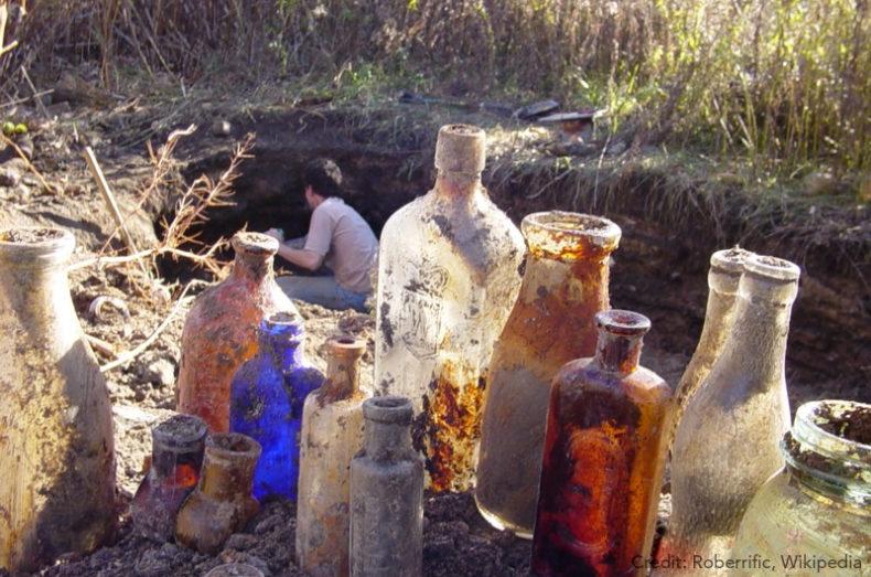 Victorian landfill waste