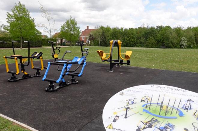 boleyn gardens outdoor gym